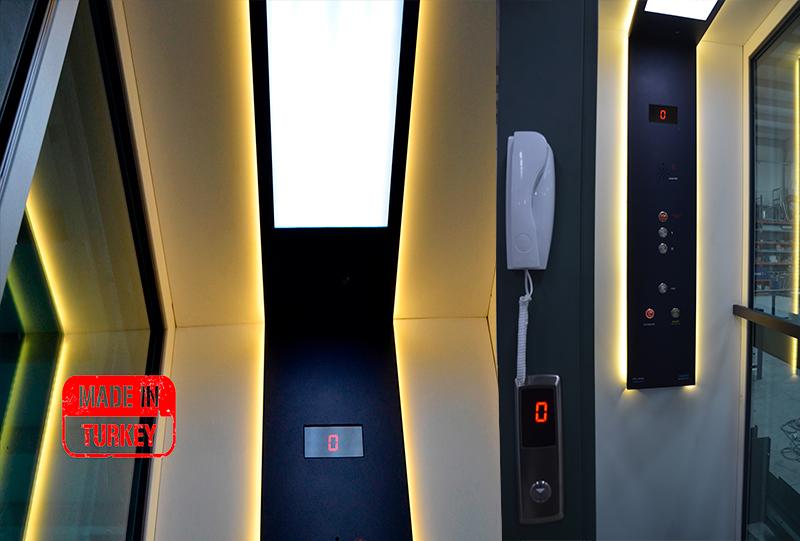hidrolik ev içi asansör