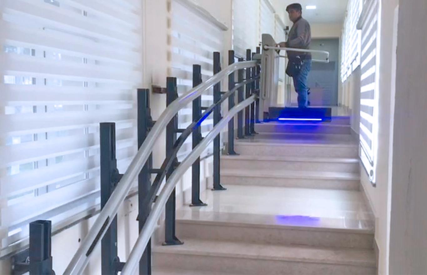 platform merdiven asansörü