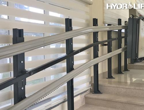 35.735.1270 Katlanabilir Düz Merdiven Tipi Engelli Platformu Seyir Mesafe Farkı