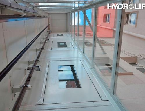 35.735.1280 Kapalı tipi dikey kaldırma hareket engelli platform asansörü seyir mesafe farkı